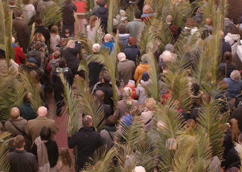 Procesja z palmami w Niedzielę Palmową