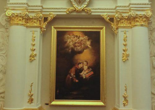 Poświęcenie odnowionego ołtarza i obrazu Św. Antoniego z Padwy