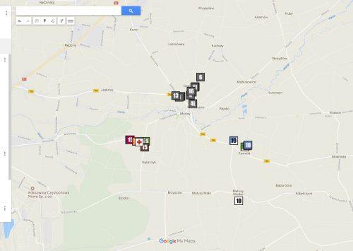 Mapy noclegów 306 WPP
