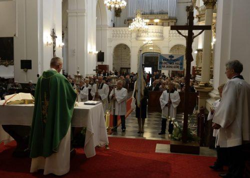 Msza Święta pielgrzymkowa 306 WPP